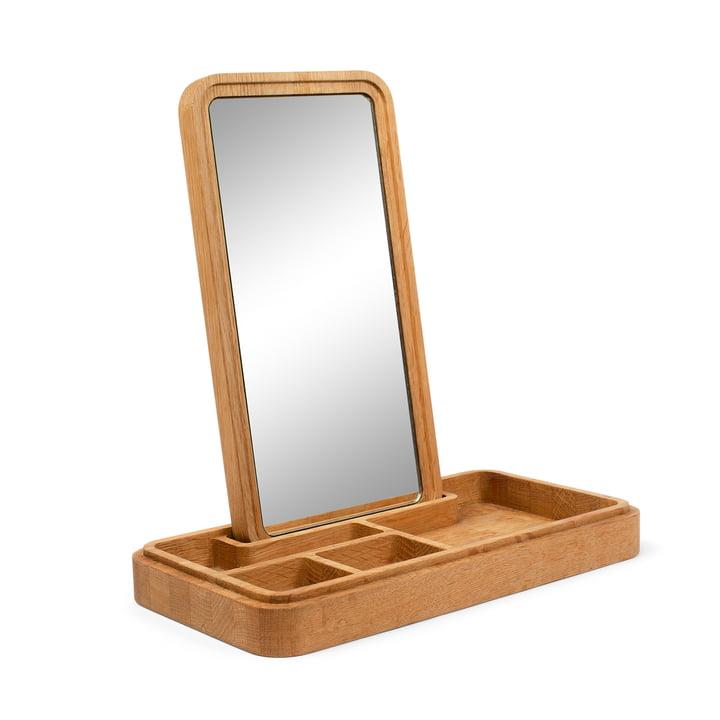 Mirror Box med spejl fra Spring Copenhagen i naturlig eg