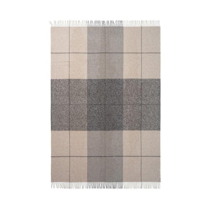 Blocks tæppe 130 x 190 cm fra Elvang i beige / brun