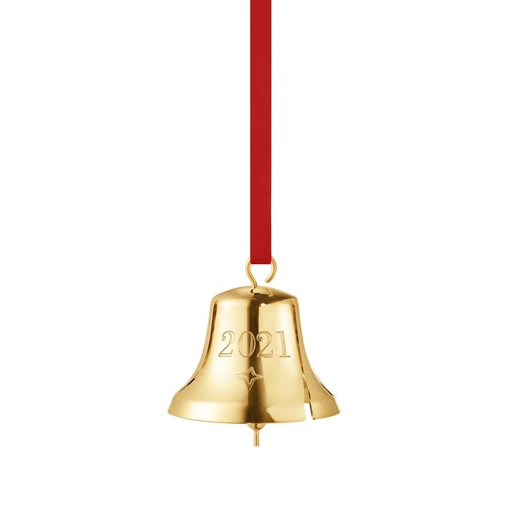 Juleklokken 2021 af Georg Jensen, guld