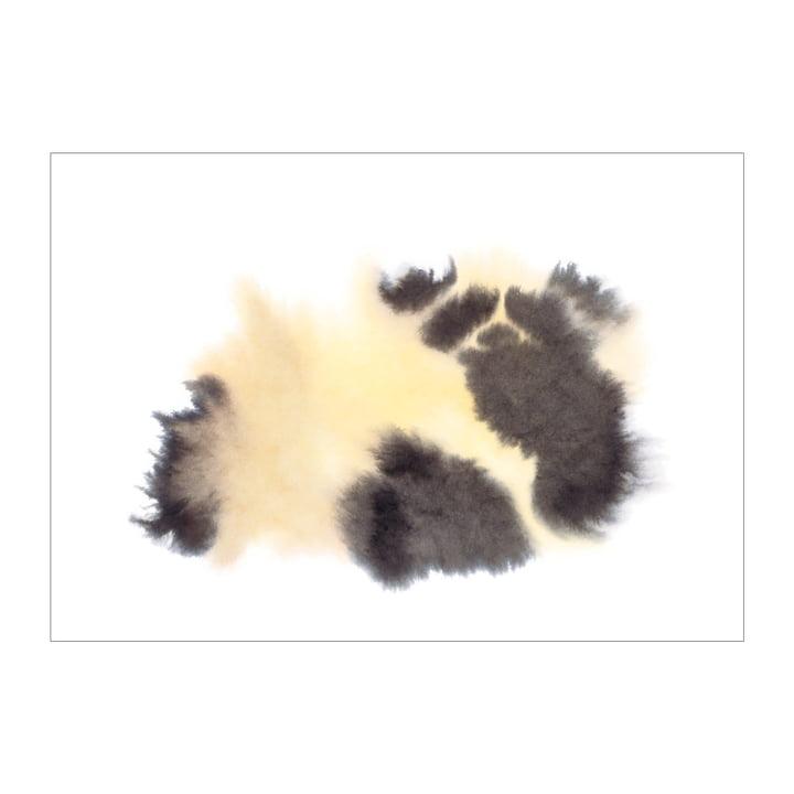 Panda-plakat 50 x 67,8 cm fra The Wrong Shop i flerfarvet