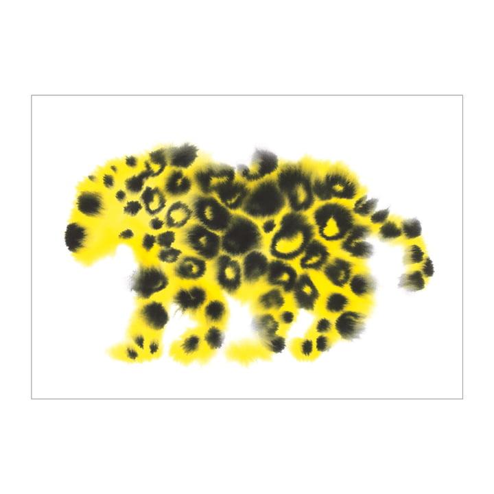 Jaguar-plakat 50 x 67,8 cm fra The Wrong Shop i flerfarvet
