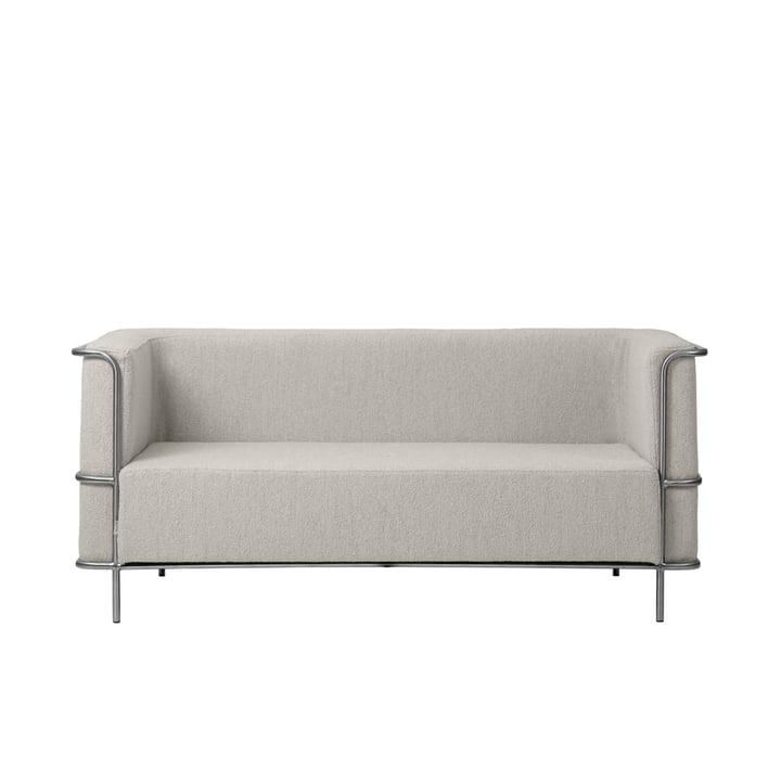 Modernist sofa 2-pers. Sofa af Kristina Dam Studio i beige (bouclé)