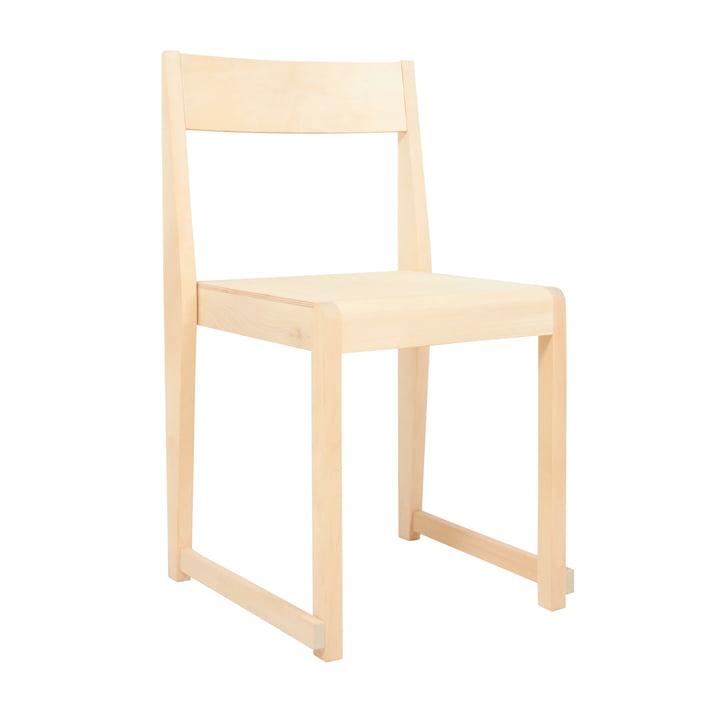 Chair 01 af Frama i olieret birk / natur