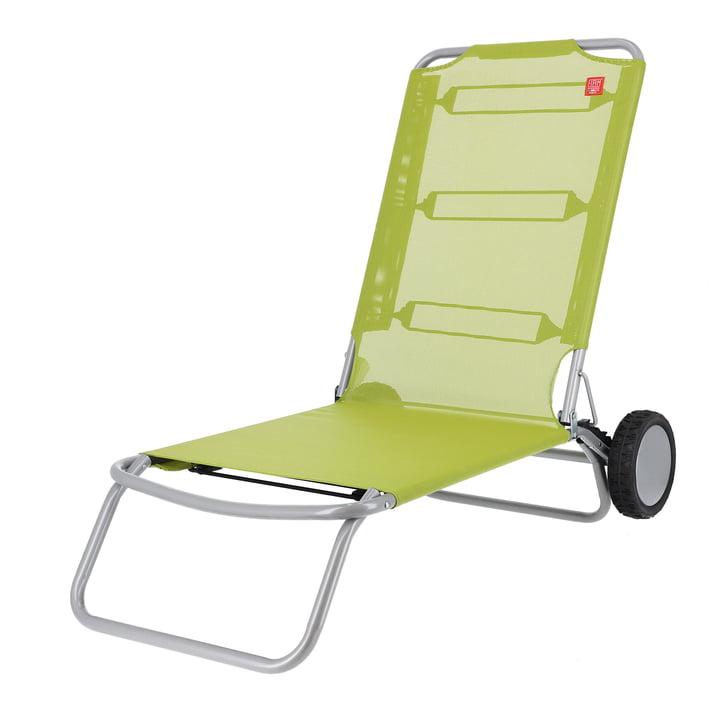 Fiam - Wheely strandstol, pistacienødder