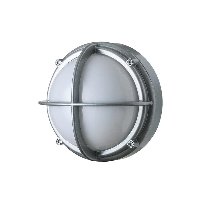Skot LED Outdoor væglampe 3000 K 6. 5 W, aluminium / opal fra Louis Poulsen