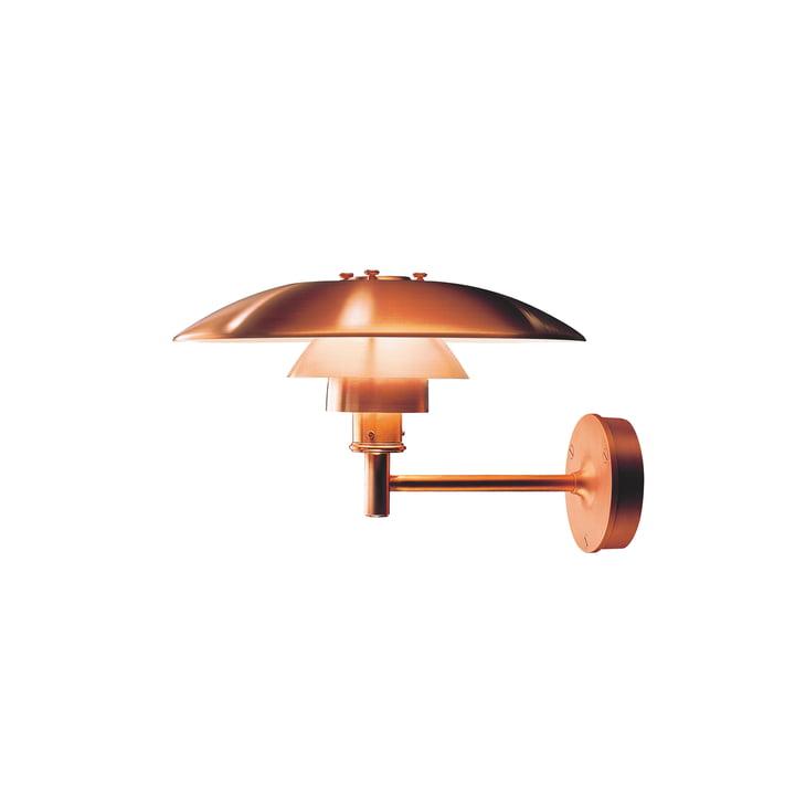 PH væglampe Outdoor, kobber af Louis Poulsen