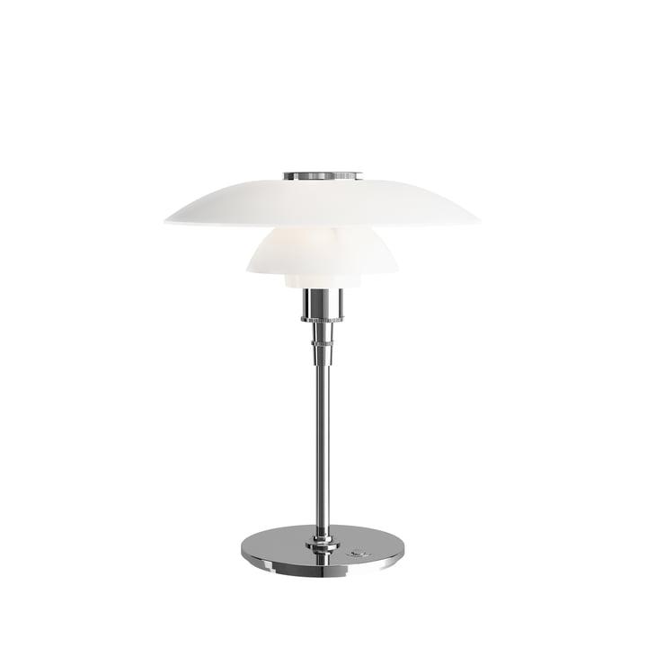 PH 4½-3½ bordlampe, højglans forkromet af Louis Poulsen
