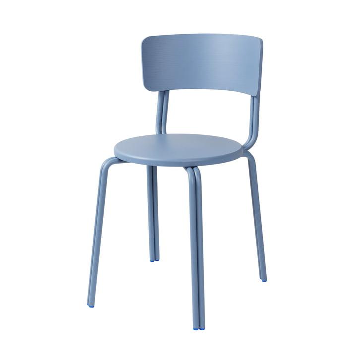 Oda stol af Broste Copenhagen i blå