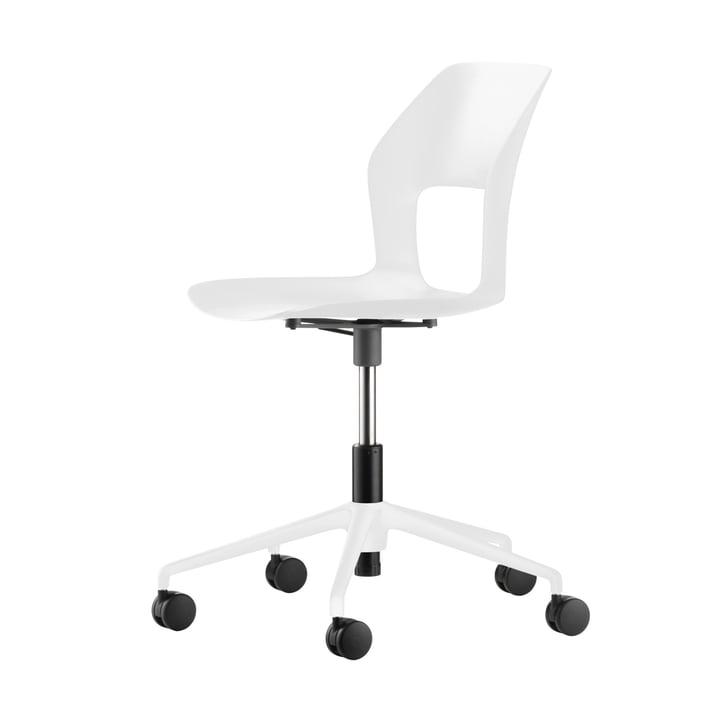 Occo SC drejestol, hvid af Wilkhahn