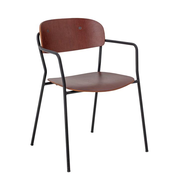 Piter lænestol, brun fra Bloomingville