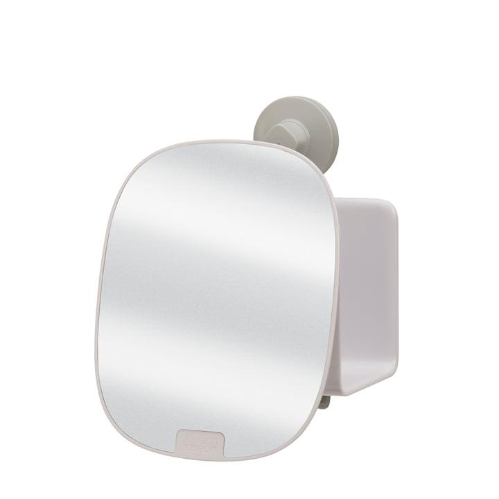 EasyStore brusehylde med justerbart spejl kompakt af Joseph Joseph i hvid