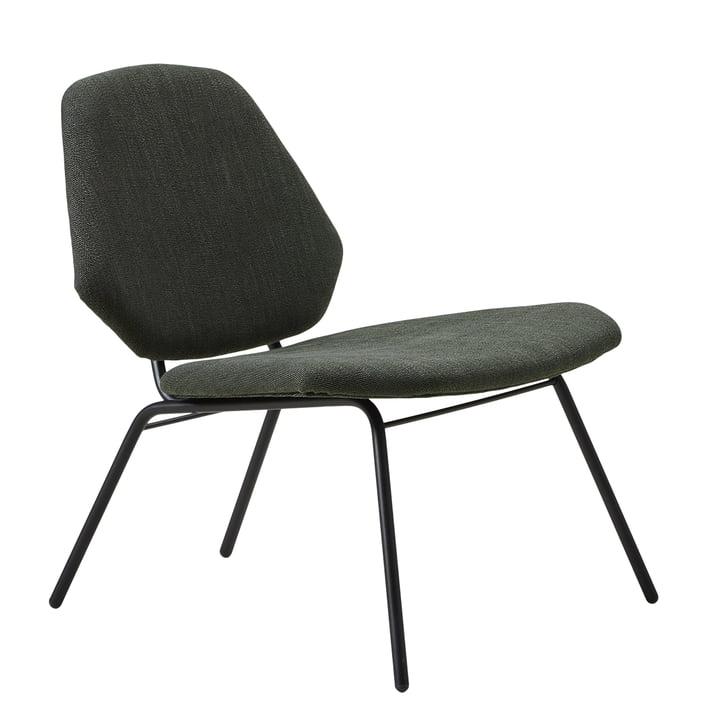 Lean lounge stol af Woud i Symphony Mills Atlantis 510 (hærgrøn)