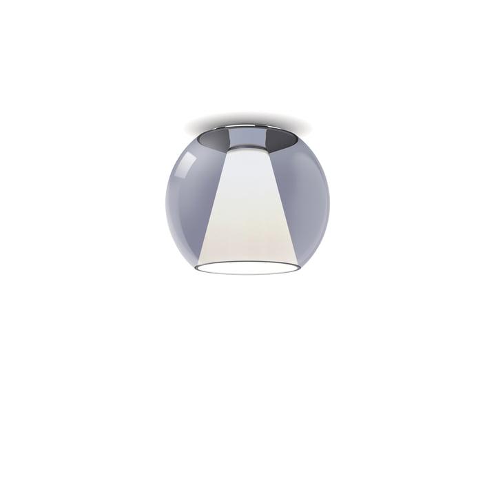serien.lighting - Draft loftslampe S, Ø 26 x H 23 cm, 2700 K / 1130 lm, blå
