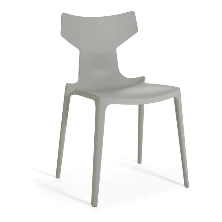 Re-Chair af Kartell i grå