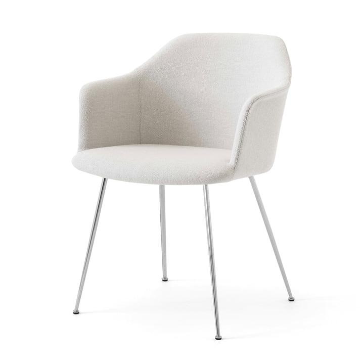 Rely HW35 lænestol, krom / Kvadrat Hallingdal 103 af & tradition