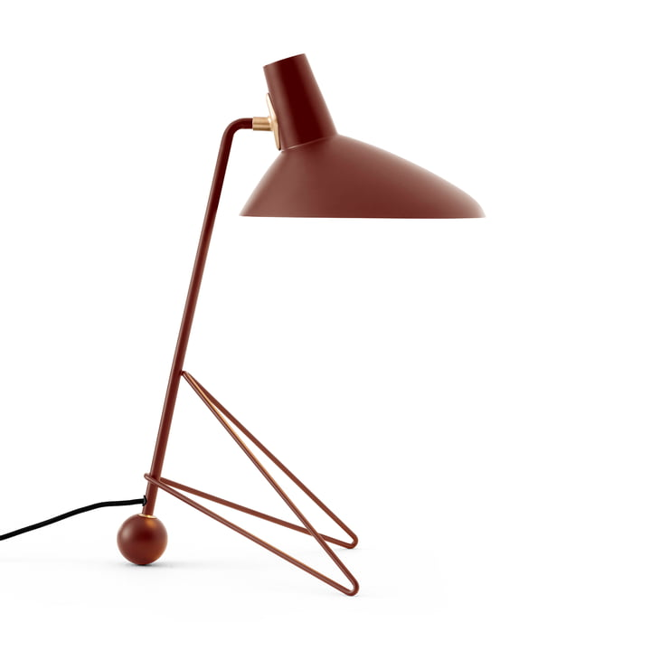 Tripod HM9 bordlampe, rødbrun af & tradition