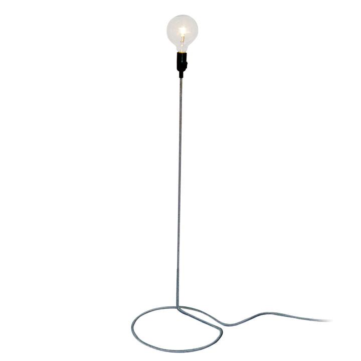Design House Stockholm - Cord Lamp gulvlampe i sort