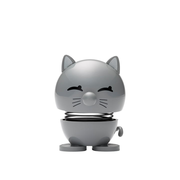 Cat, lille / cool grey af Hoptimist
