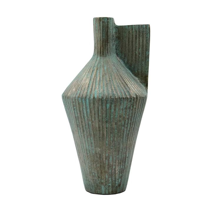 Cleo vase, H 30 cm af House Doctor, antik guld finish