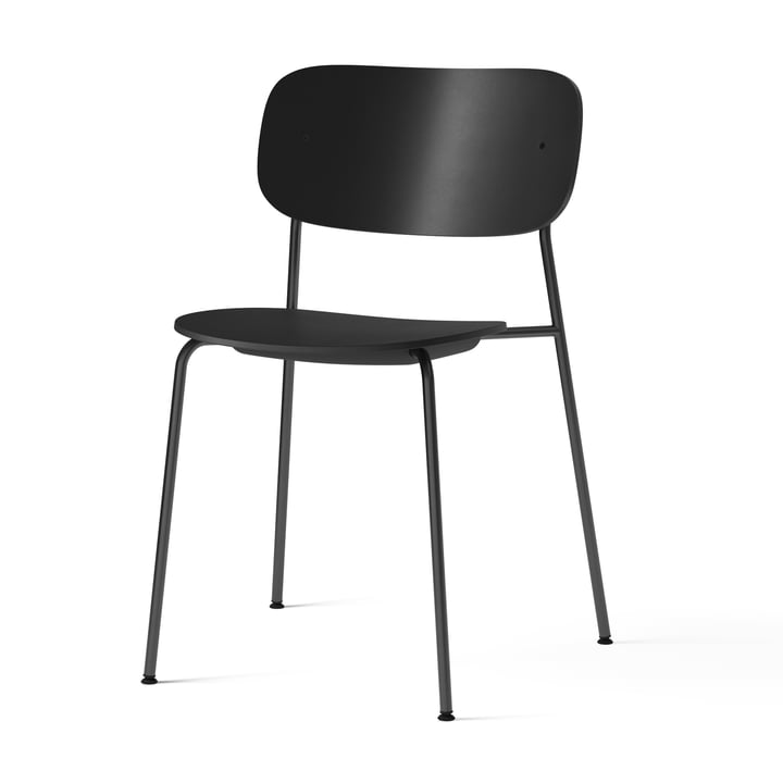 Co Dining Recycled Plastic Chair, sort fra Menu