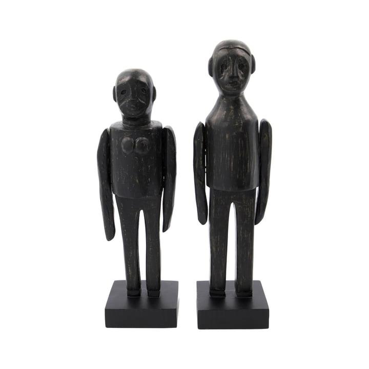 Spouses par skulpturer af House Doctor i sort