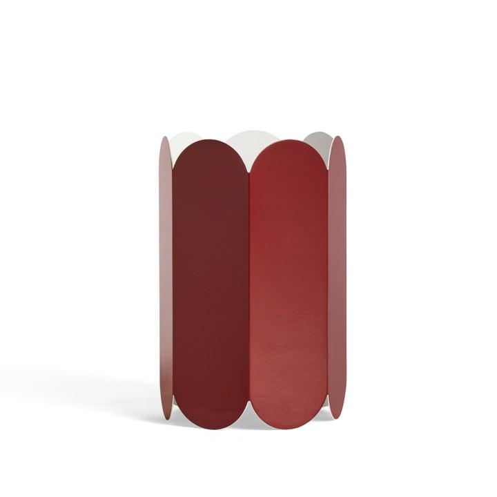 Arcs lampeskærm Ø 20 x H 30 cm fra Hay i farven rødbrun