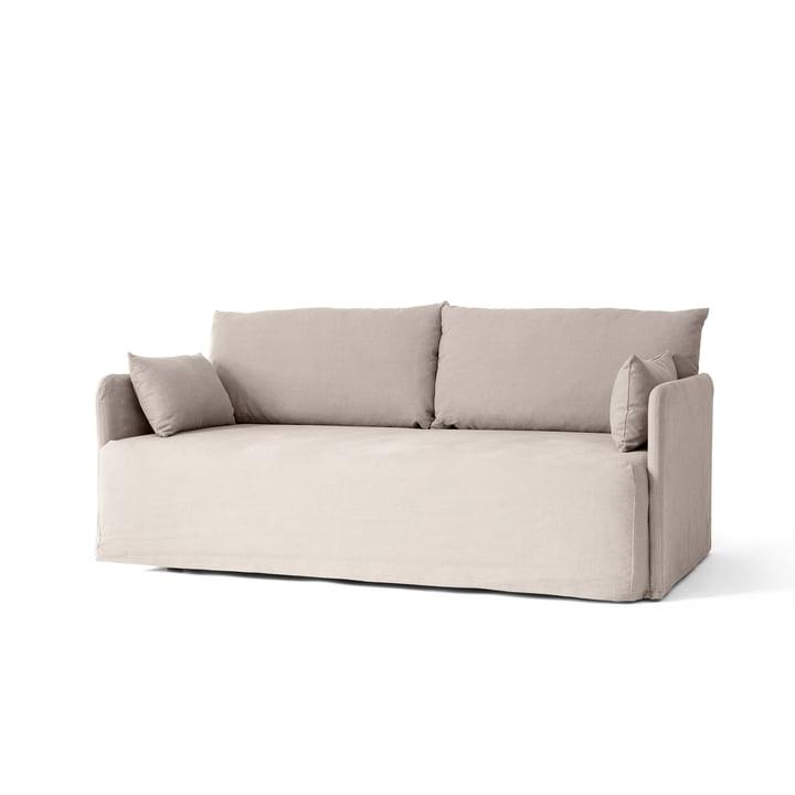 Offset 2-personers sofa med aftageligt Cotlin oat fra Menu