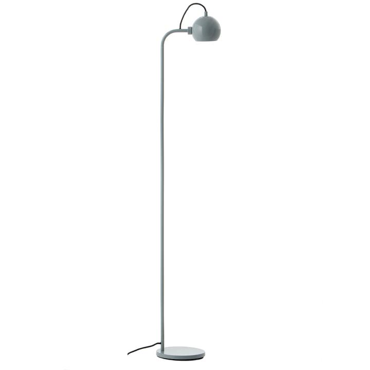 Ball Single gulvlampe, blank mynte fra Frandsen