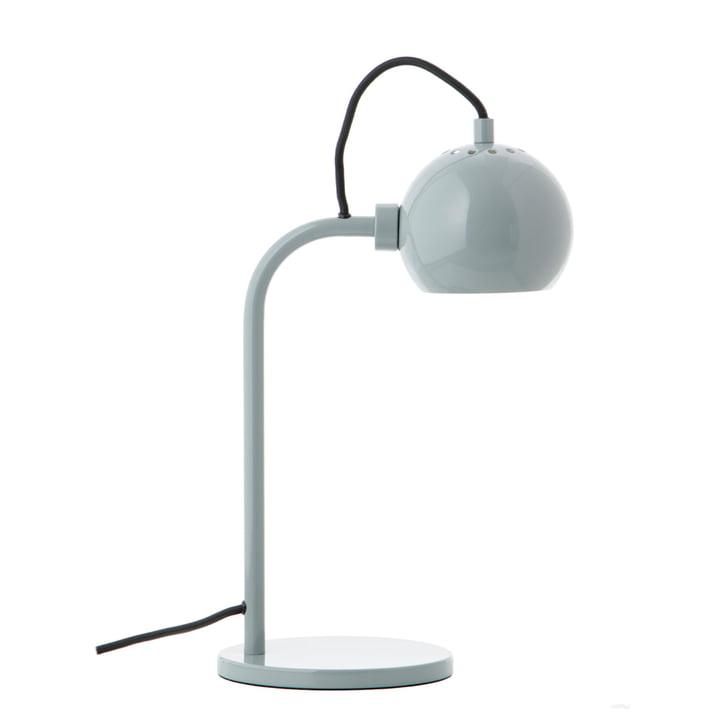 Ball Single bordlampe, blank mynte fra Frandsen