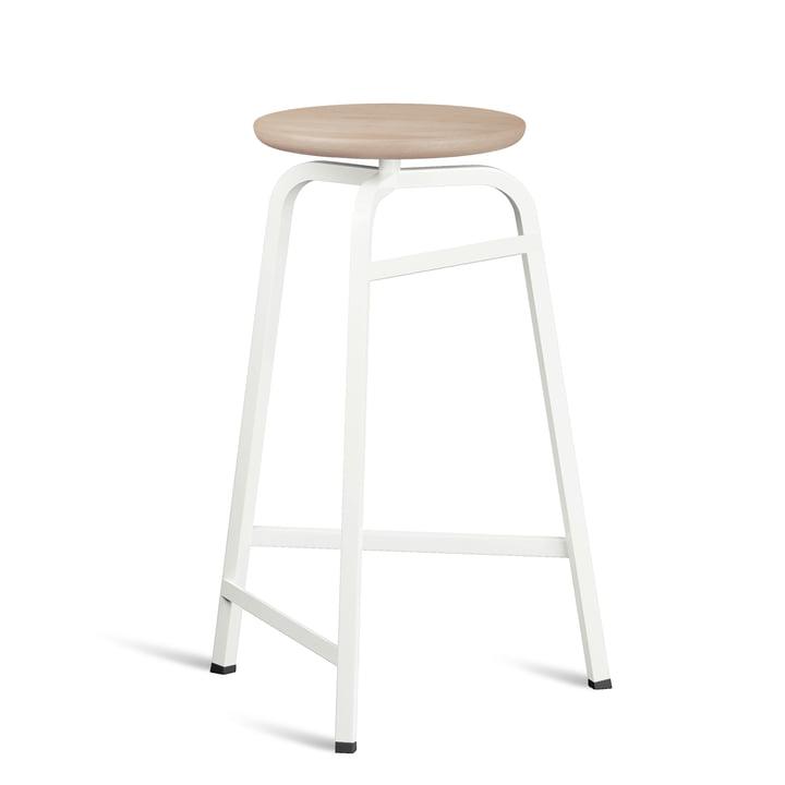 Treble barstol fra Northern i versionen hvid / egolieret