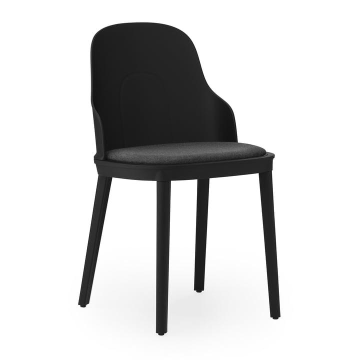 Allez stol betrukket lærred af Normann Copenhagen i sort