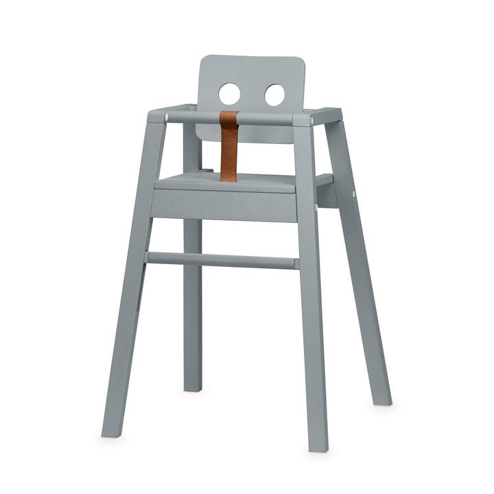 Robot højstol, H 80,5 cm, grå af Nofred