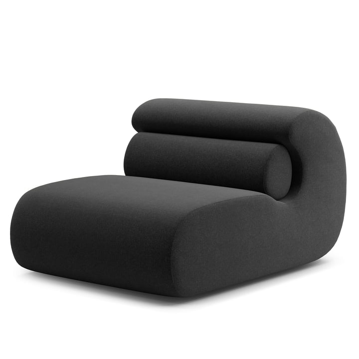 Ola Lounge Chair, antracit (Main Line Flax MLF28) fra Objekte unserer Tage