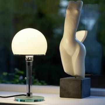 Wagenfeld lampe WG 24 fra Tecnolumen