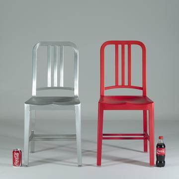 Emeco – 111 Navy Coca-Cola stol
