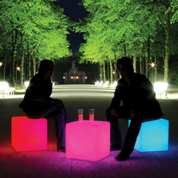 Moree Cube-LED Accu Outdoor: