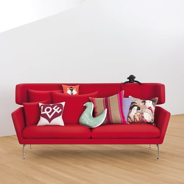 Suita Sofa 3 personers med Graphic Print Pillow - Love von Vitra