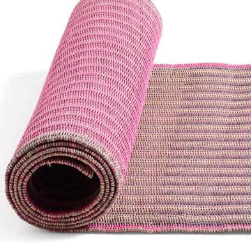Hay – Two Ways tæppe, lyserødt, 80 x 200 cm
