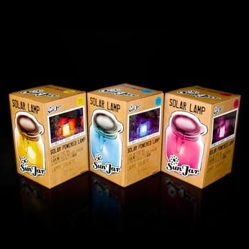 Suck UK – Sun Jar – emballage