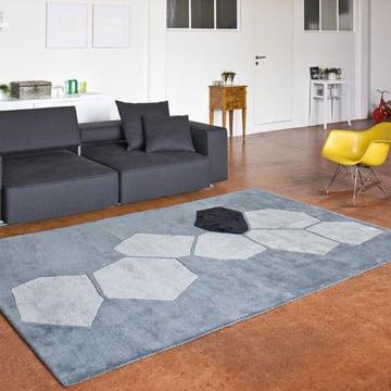Ruckstuhl – LANDSCAPE tæppe, sølv