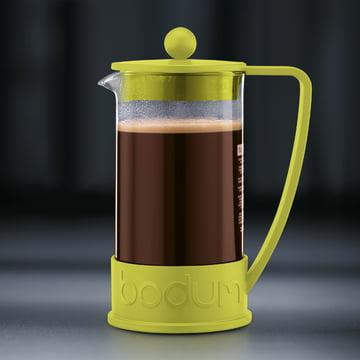 Bodum – Brazil kaffebrygger, 1,0 l, limegrøn – brygning 4