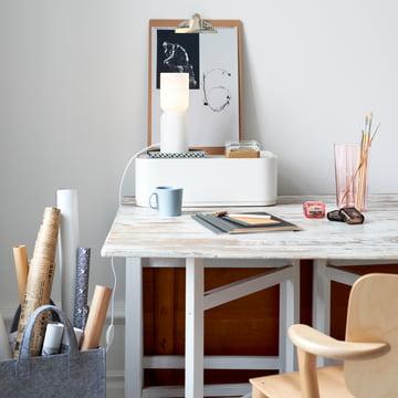 Aalto på skrivebordet