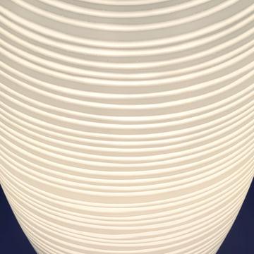 Foscarini – Rituals 1 bordlampe – detalje, lampeskærm