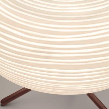 Foscarini – Rituals 3 bordlampe – detalje, lampeskærm