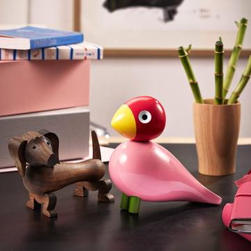 Kay Bojesens sangfugl og træhund