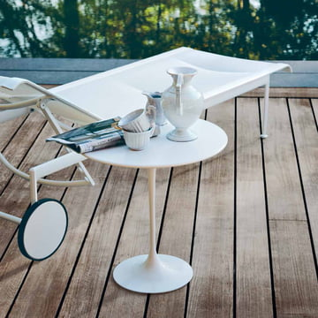 Knoll – Saarinen Tulip sidebord, rundt