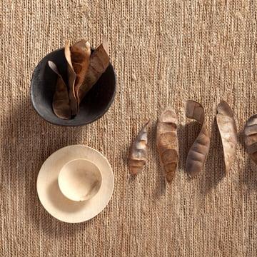 nanimarquina – strikket tæppe, natur