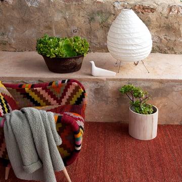 nanimarquina – Earth tæppe, terrakotta