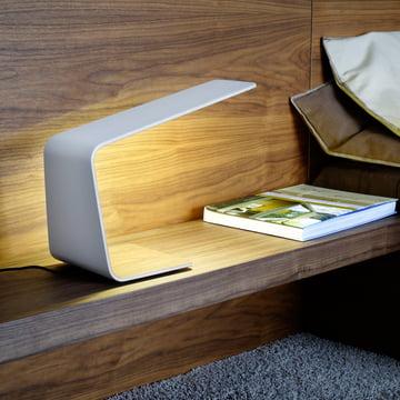 Led 1 bordlampe som diskret lys i soveværelset