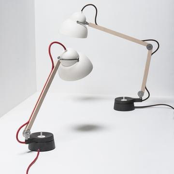 Wästberg – Studioilse bordlampe-duo w084t1 og w084t2
